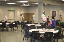 Before people started arriving